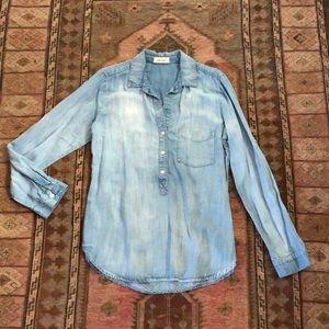 Bella Dahl Chambray shirt/tunic